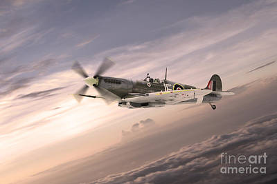 Royal Air Force Digital Art - Fighting Grace by J Biggadike