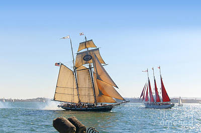 Photograph - Fighting Ships by Brenda Kean