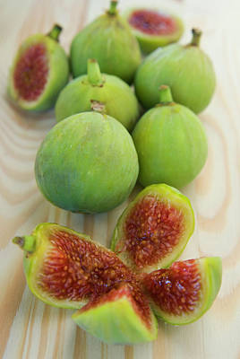 Ficus Photograph - Figs (ficus Carica by Nico Tondini