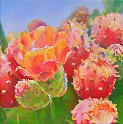 Claude Monet - Figuier de Barbarie by Muriel Dolemieux
