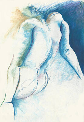Figurative Abstract Art Print by Melinda Dare Benfield