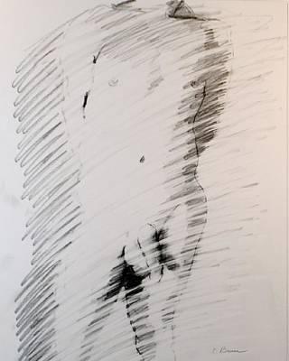 Figure 13 Male Nude Study Art Print by Craig  Bruce