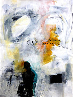 Keywords Painting - Figure 2 by Jane Davies