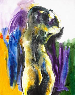 Figure Art Print by Brenda Clews