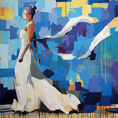 Swing Painting - Figure I by Julia Pappas