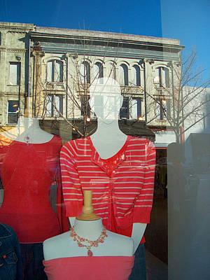 Figure In Window By Jan Marvin Art Print