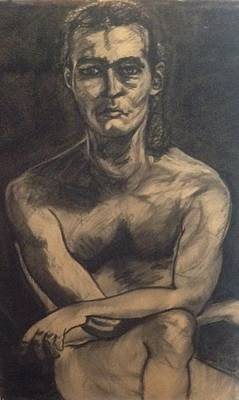 Wall Art - Drawing - Figure Study by Kerrie B Wrye