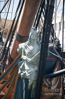 Photograph - Figurehead On Galleon by Brenda Kean