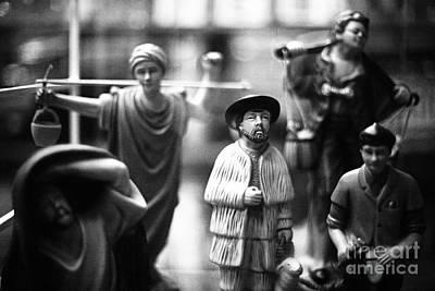 Figurines Art Print by Gaspar Avila