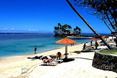 Photograph - Fiji Beach Resort by John Potts