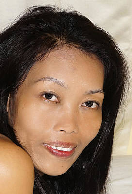 Photograph - Beautiful Filipina by Ron Roberts