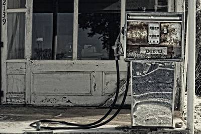 Abandoned Photograph - Fill Her Up by Emily Stauring