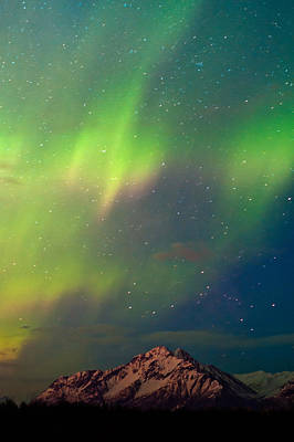 Filled With Aurora Art Print by Ron Day