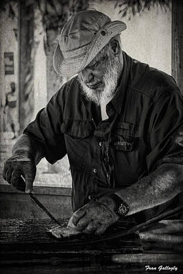 Photograph - Filleting Fish by Fran Gallogly
