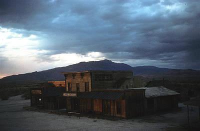 Claude Monet - Film homage Steve McQueen Tom Horn set color version nightfall Mescal Arizona 1980-2008 by David Lee Guss