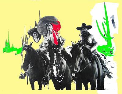 Martini Royalty-Free and Rights-Managed Images - Film homage The Gay Desperado 1936 Chris-Pin Martin  Nino Martini Saguaro  Natl Monument Tucson by David Lee Guss
