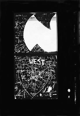 Edward G. Robinson Wall Art - Photograph - Film Noir Edward G. Robinson Nightmare 1956 Restroom Window  Sentinel Arizona 1968 by David Lee Guss