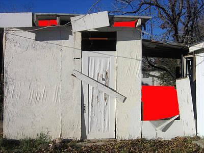 Edward G. Robinson Wall Art - Photograph - Film Noir  Edward G. Robinson Sid Bruce The Red House 1947 Black Canyon City Arizona 2004 by David Lee Guss