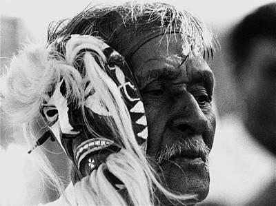 Yaqui Photograph - Film Noir John Alton Anthony Mann Border Incident 1949 1 Yaqui Pascola Dancer New Pascua Tucson 1968 by David Lee Guss