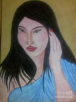 Syeda Ishrat Painting - Filpinese by Syeda Ishrat