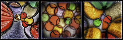 How To Take Photograph - Filter Set Abstract Triptych by James A Crawford