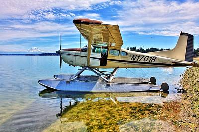 Photograph - Filucy Bay Airport by Benjamin Yeager