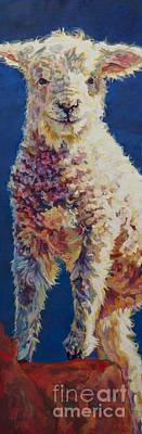 Ovine Painting - Fin by Patricia A Griffin