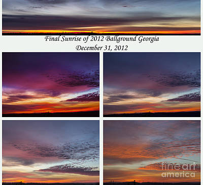 Photograph - Final 2012 Sunrise Combo by Michael Waters