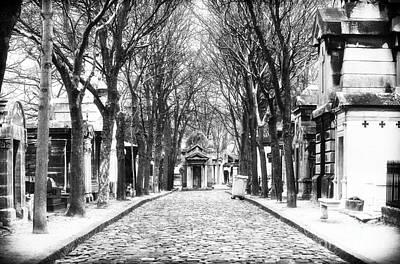 Cemeteries Of Paris Photograph - Final Destination In Paris by John Rizzuto