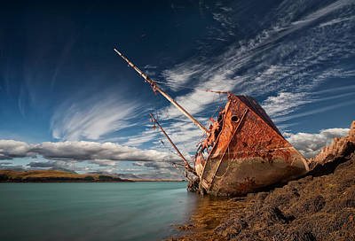 Shipwreck Wall Art - Photograph - Final Destination by ?orsteinn H. Ingibergsson