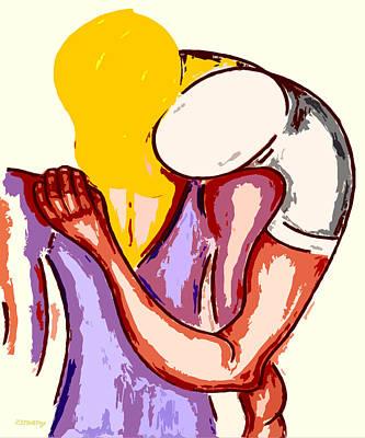 Final Embrace Art Print by Patrick J Murphy