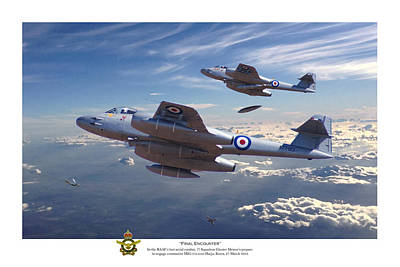 Jet Digital Art - Final Encounter by Mark Donoghue