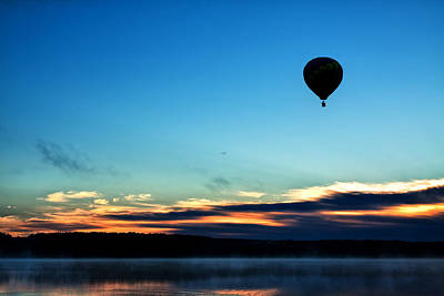Final Flight - Hot Air Balloon Ride Art Print by Gary Smith