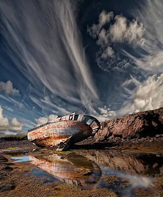 Shipwreck Photograph - Final Place by ?orsteinn H. Ingibergsson