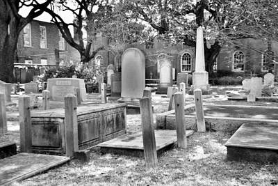 Photograph - Final Resting Place Charleston Sc by Lisa Wooten