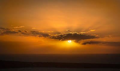 Photograph - Final Sunset by Brian Grzelewski