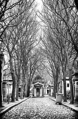 Cemeteries Of Paris Photograph - Final Walk by John Rizzuto