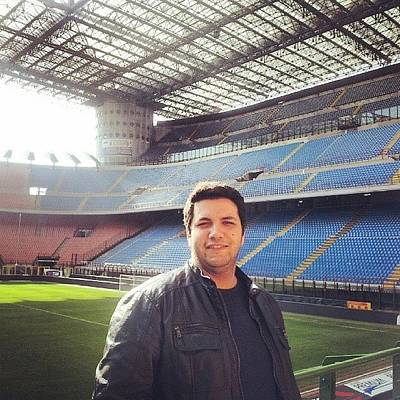 Sports Photograph - Finally Made It To The San Siro by Abdelrahman Alawwad