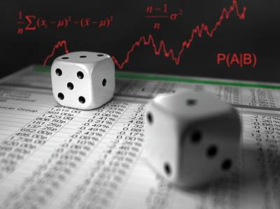 Forecast Photograph - Financial Risk by Equinox Graphics