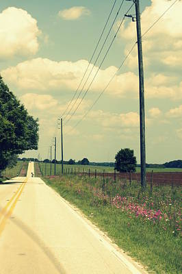 Photograph - Find A Back Road by Laurie Perry