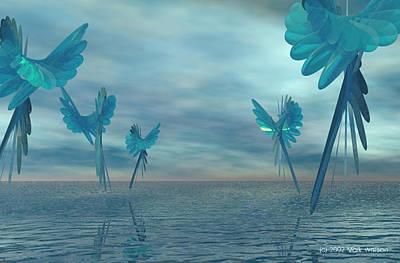 Pleiades Digital Art - Find That Place by Mark L Watson