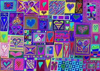 find U'r love found v4  Art Print by Kenneth James