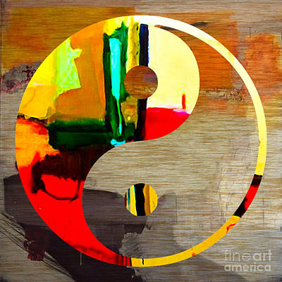 Namaste Mixed Media - Finding Balance by Marvin Blaine