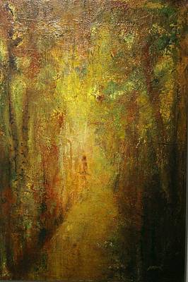 Leafy Mixed Media - Finding Myself by Jean Rodak