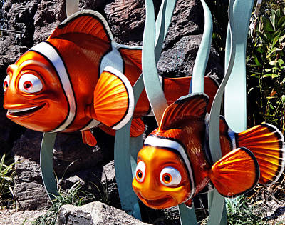 Clown Fish Photograph - Finding Nemo by Kevin Fortier