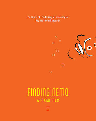 Pixar Digital Art - Finding Nemo by Smile In The  Mind