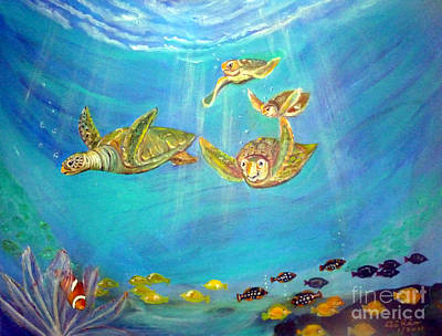 Triggerfish Painting - Finding Nemo by To-Tam Gerwe