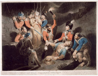 Finding The Body Of Tipu Art Print by British Library