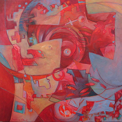 Finding The Key Art Print by Susanne Clark