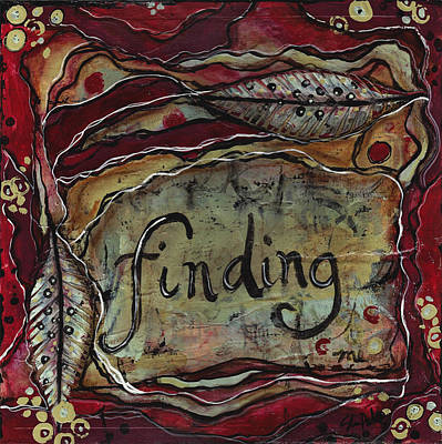 Finding...me Art Print by Shawn Petite